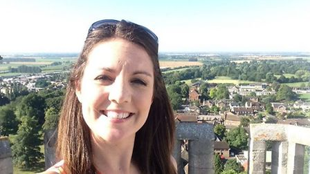 Good Morning Britain weather girl Laura Tobin in Ely