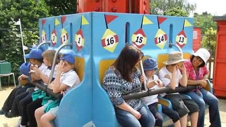 Highfield Students enjoy a trip to Wicksteed Park