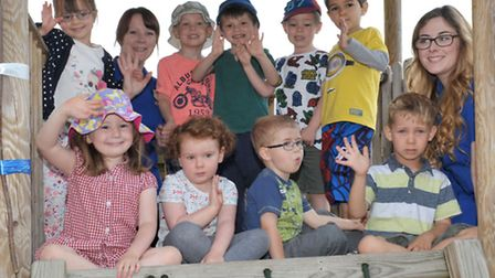 Harlequin Childcare, Ely, Outstanding Ofsted twice in a row. Picture: Steve Williams.