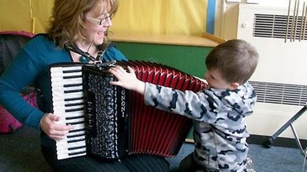 A new music therapy clinic has opened in Cambridgeshire.