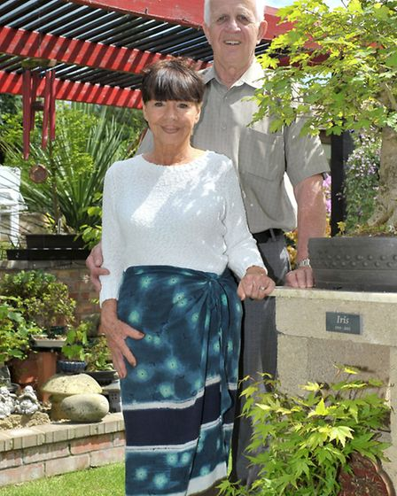 Open Garden at Henson Road, March, Owners of garden Maria and Paul Nielson-Bom. Picture: Steve Willi