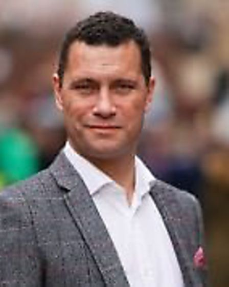 Steven Woolfe who looks set to contest UKIP leadership with Cllr Lisa Duffy