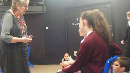 Storytelling project at Cromwell Community College, Chatteris