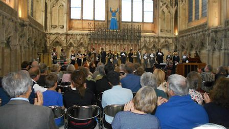 The Lady Chapel at the end of the performance
