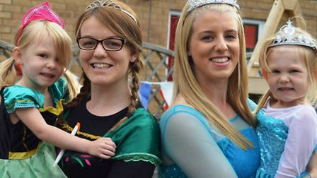 School leavers and staff become knights and princesses for the day at Clarence House, Chatteris