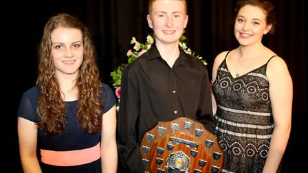 Soham VC Young Musician. The three winners at Key Stage 3: Dominic Wills, Young Musician of the Year