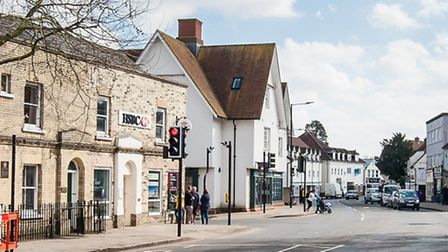 There has been a robbery at the HSBC bank in Dunmow. Picture: SaffronPhoto