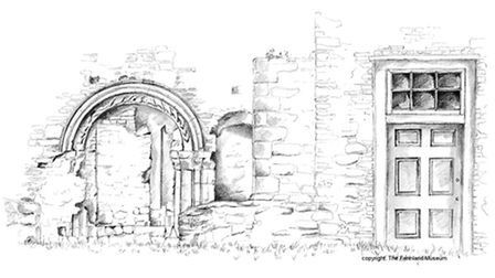 Learn to sketch at Farmland Museum and Denney Abbey's one day workshop
