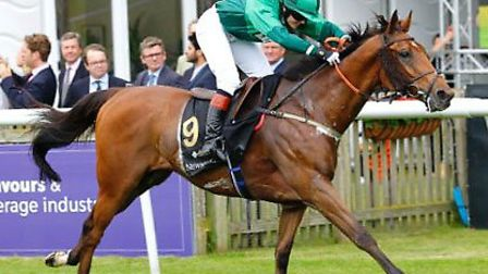 Pendelton strikes gold again at charity Newmarket race