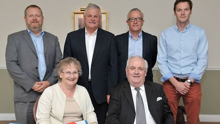 Meet the judging team from left: Andrew Band, Peter Watts, Neil Kirby, Lee Dobinson, Gill Pragnell