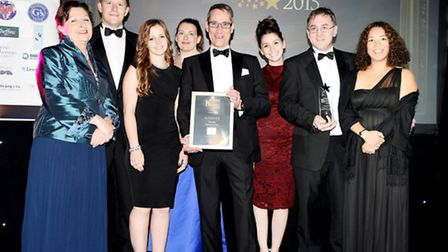 Thorlabs - winners of the Employer of the Year award 2015