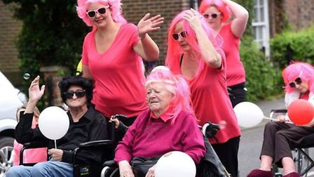 Grease is the word for Lyncroft Pink Ladies at Wisbech Rose Fair