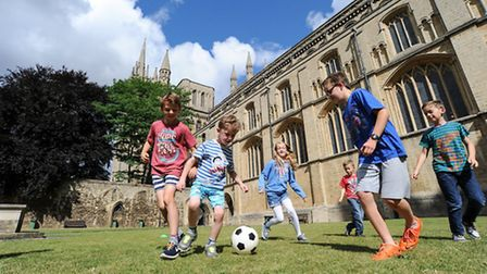 """Peterborough Cathedral is """"Ready for Rio"""""""