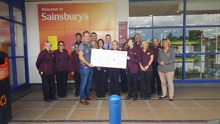FACET receives a bumper cheque from Sainsbury's in March
