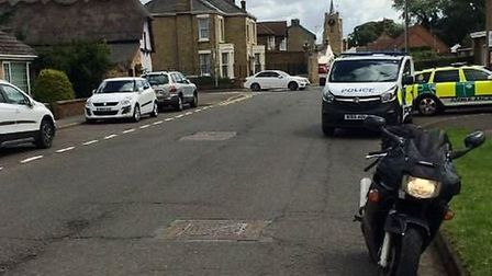 Motorcyclist left with minor injuries after collision in Wisbech