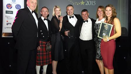 East Cambridgshire Business Awards 2015Medium Business of the Year winners Ellgia Recycling