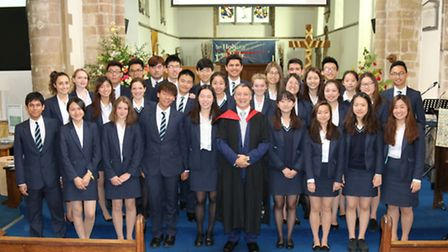 Year 11s from King's Ely held their annual International Prize Giving Ceremony last Thursday.