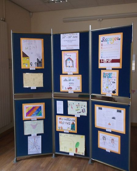 Ely Refugee Resettlement Campaign winning posters