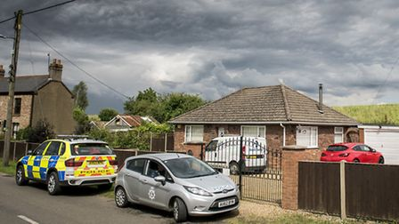 The scene of the double shooting in Magdalen. Picture: Matthew Usher.