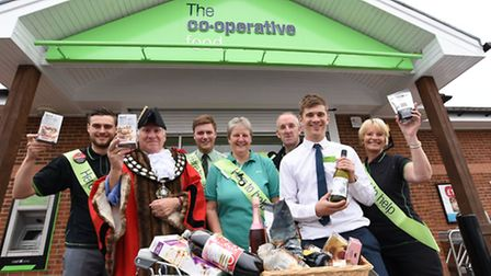 Aidan Payne (Customer Service Assistant), Mayor of March, Councillor Andrew Donnelly, Harry Wilson (