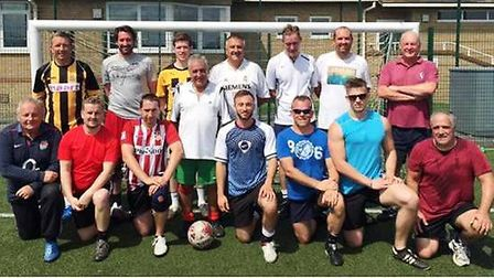 Walking Football sessions at Witchford Village College have received new sponsorship.