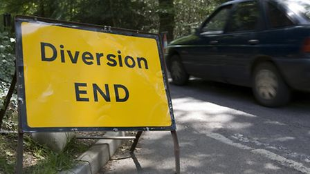 A diversion is in place on the Flitch Way from July 29