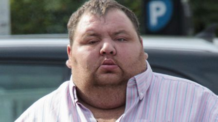 Danny Warby is on trial for causing death by dangerous driving. Picture: Terry Harris