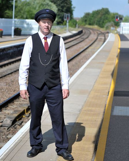 March railway station held an heritage open day.Adrian Sutterby, chairman of the friends of March st