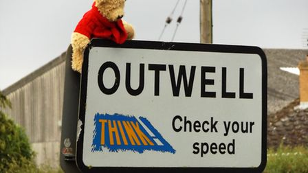 George the bear at Outwell
