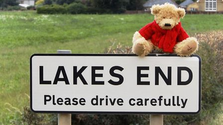 George the bear at Lakes End