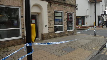 HSBC in Dunmow, which was subject to an armed robbery last month, is set to close, the bank has anno
