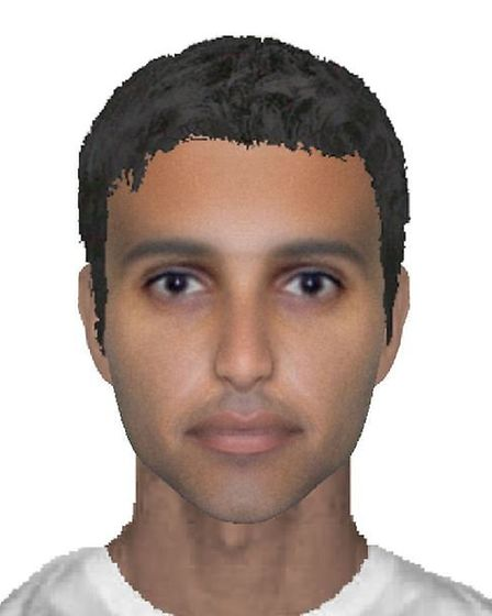 E-fit issued of RAF Marham abduction Suspect 2. Picture Norfolk Police
