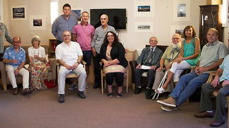 Camera clubs at Wisbech and King's Lynn provide photographs for Downham Grange care home