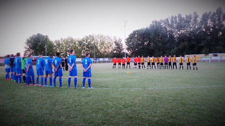 An Ely City XI took on Little Downham in the final.