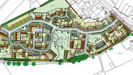 Proposed site of 126 homes in Soham recommended for approval