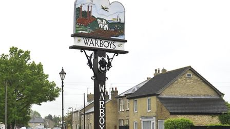A man has died after crashing into a water-filled ditch in Warboys.
