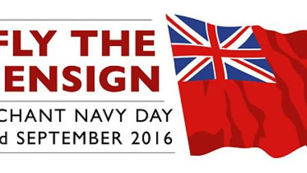 The Red Ensign will be flown at Fenland Hall in March next Friday to mark Merchant Navy Day.