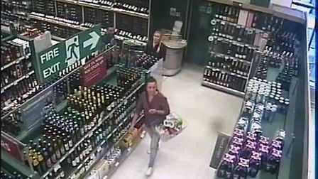 Police are appealing for information after more than £1,000 of alcohol was stolen from a supermarket