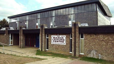 The Manor Leisure Centre in Whittlesey.
