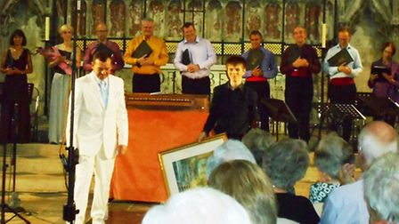 Cambridge Voices; Bach to the Bard in the Lady Chapel of Ely Cathedral