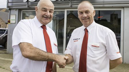 Car salesman John Day retires after 30 years working for Nissan