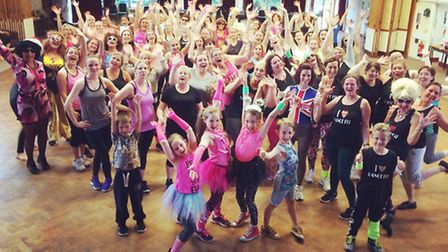Charity dance event in Wisbech