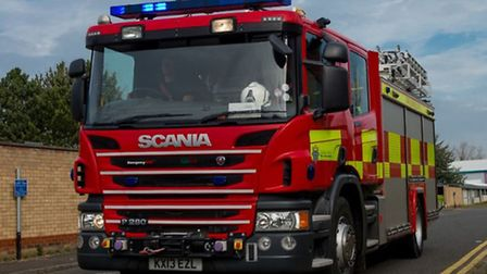Shed catches fire in Robingoodfellows Lane, March