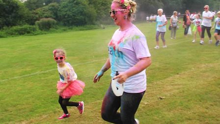 Runners of all ages took part at King's Ely.