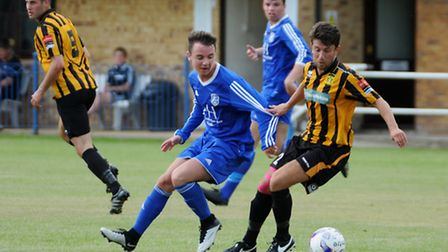Takeley FC's Jack Haspineall