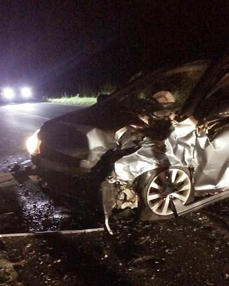 Lucky escape for motorists involved in crash near Warboys