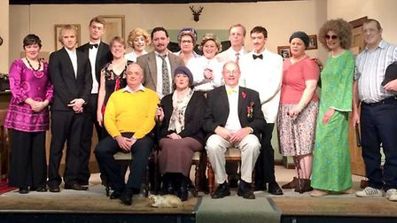 The Anglian Players performing Fawlty Towers.