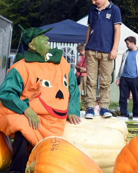 Mr Pumpkin and Christopher Frost, 5