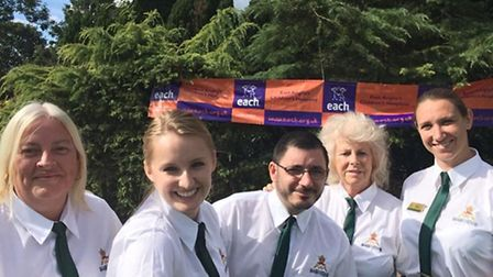 Food and beverages staff.