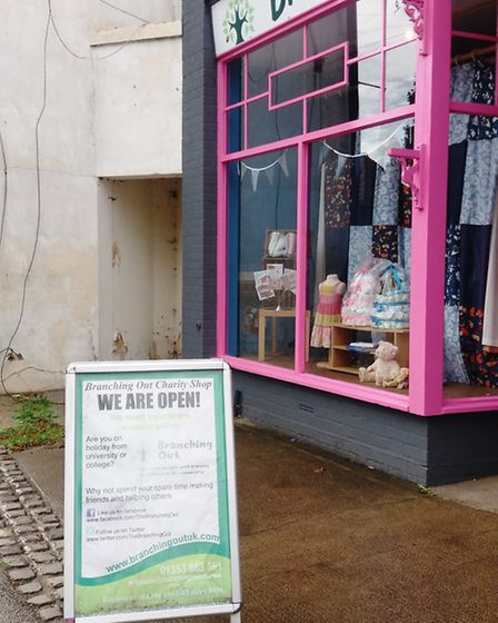 Branching Out Charity Shop in Littleport was broken into at the weekend